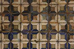 spanska tegelplattor arkivfoto