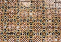 spanska tegelplattor arkivbilder
