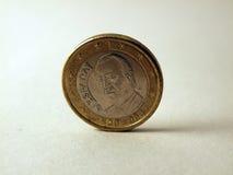 Spanskt euro Arkivbild