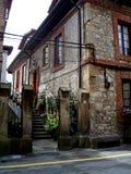 Spanskt hus Arkivbild
