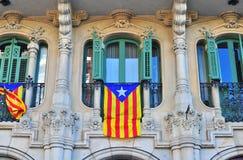Spanskt hus Arkivfoto