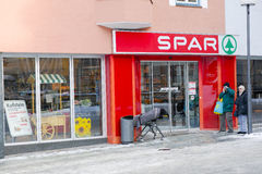 Spar Stock Photo