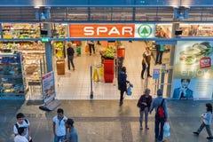 SPAR store in Graz, Austria. Royalty Free Stock Photos