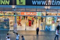 SPAR store in Graz, Austria. Stock Photos