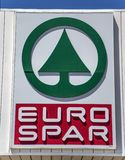 Spar store in Ragusa Stock Image