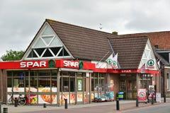 SPAR supermarket Royalty Free Stock Images