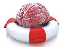 Spara din hjärna och att bevara minne, neurological funktion vektor illustrationer