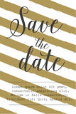 Spara färgpulvret för stil för datumet det lyxiga svarta och guld- stock illustrationer