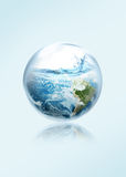 Spara jorden från ingen El-Ni Arkivfoto