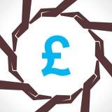 Spara pengarbegreppet Arkivbild