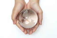spara världen Arkivbild
