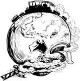 Spara vår jord Arkivfoton