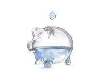 spara vatten Arkivfoton
