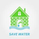 spara vatten Royaltyfri Foto