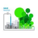 spara vatten Fotografering för Bildbyråer