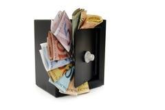 Sparade brasilianska pengar Royaltyfri Bild