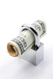 sparande för begreppsförsäkringpengar Arkivbilder