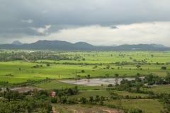 sparat landskap i Thailand royaltyfri foto