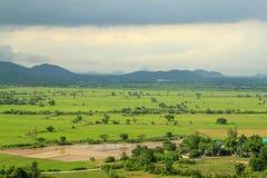 sparat landskap i Thailand royaltyfri fotografi