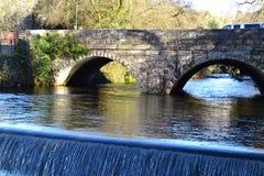 Ponte di Tavistock Fotografia Stock
