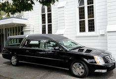 Sparato della saettia per funerale fotografie stock libere da diritti