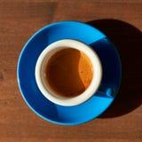 Sparato di caffè espresso Immagine Stock