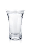 Sparato di vodka russa Immagine Stock Libera da Diritti