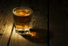 Sparato di whiskey Fotografia Stock Libera da Diritti