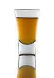 Sparato di whisky Fotografia Stock