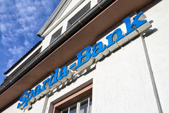 Sparda-Bank branch. Sparda-Bank is a German co-operative bank and traditionally focused on private banking Royalty Free Stock Photos