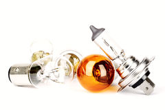 Spare car bulbs Royalty Free Stock Photo