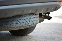 Spare car tyre Stock Photos