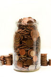 Spare change Stock Images