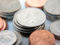Spare change Stock Photography