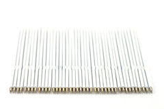 Spare cores for a pen. On white background Royalty Free Stock Photos