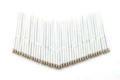Spare cores for a pen. On white background Royalty Free Stock Photography