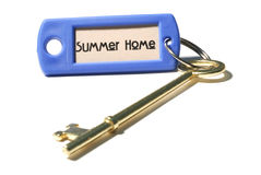 Spare Key to the Summer Home Stock Images