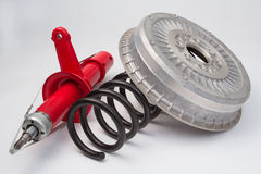 Spare parts Stock Photography