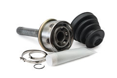Spare parts for cars Stock Photo