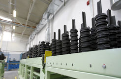Spare parts factory Stock Photos