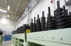 Spare parts factory Stock Photos