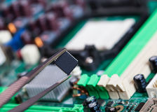 Spare Parts For Repair Of Electronic Royalty Free Stock Photo
