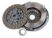 Spare parts forming clutch Stock Photos