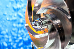 Spare parts IN Manufacturing industry Royalty Free Stock Image