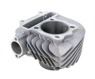 Spare parts for motorbike engine Stock Photography