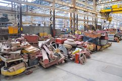 Spare Parts: The Railway Museum, Bassendean, Western Australia Royalty Free Stock Photography