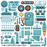 Spare parts set Royalty Free Stock Image