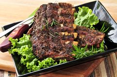 Free Spare Rib Dinner Stock Photography - 7966132
