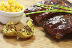 Spare Ribs Stock Images
