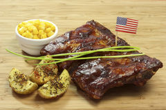 Spare Ribs Royalty Free Stock Images